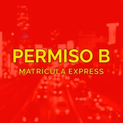 PERMISO B - Matrícula Express